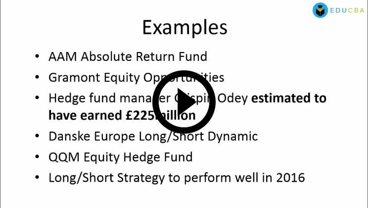 Hedge Funds Course - Example Part 3