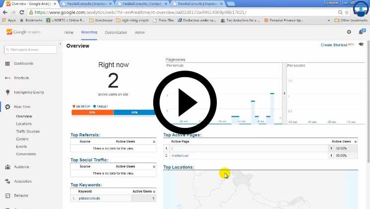 Google Analytics Training Video1