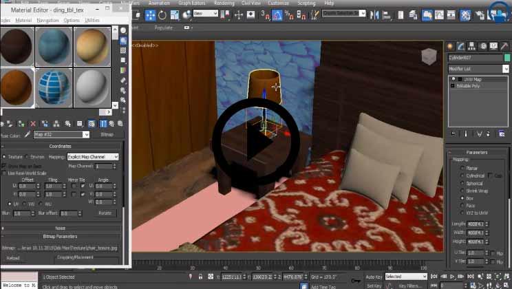 3DS Max Architecture Course Video2
