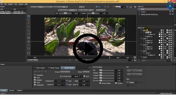 Silhouette FX Tutorial Video1