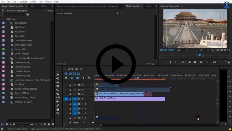 Color Key-Green Screen Part 1