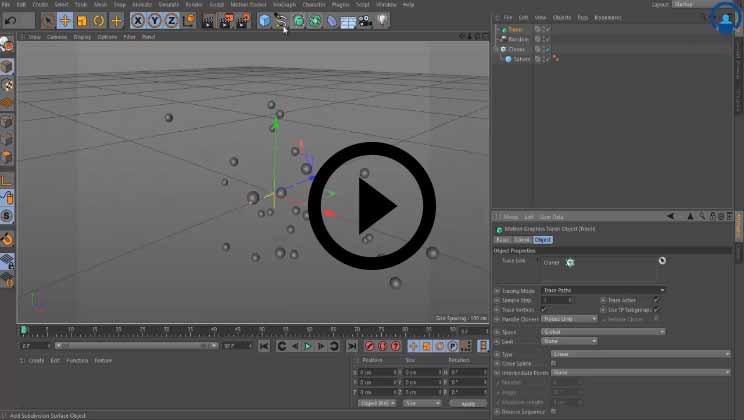 Cinema 4D Training Video1