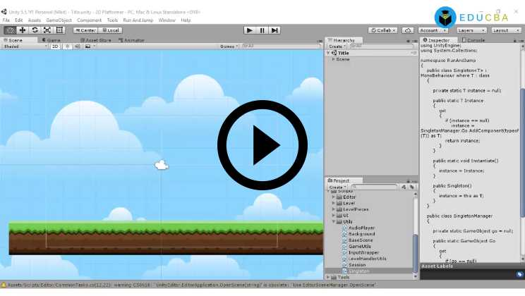 Unity Scripting Tutorial Video1