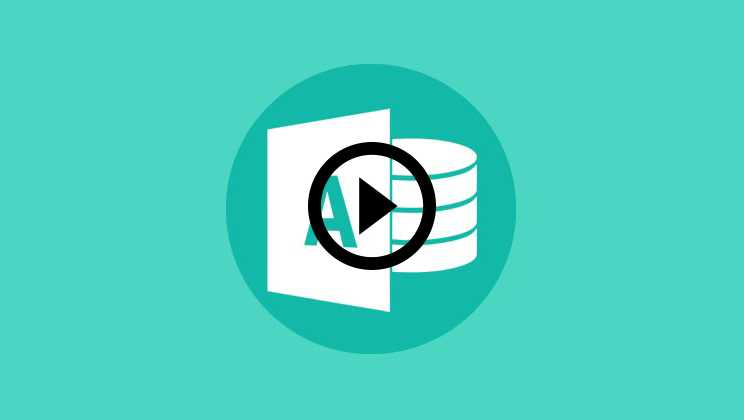 Microsoft Access Course Video1
