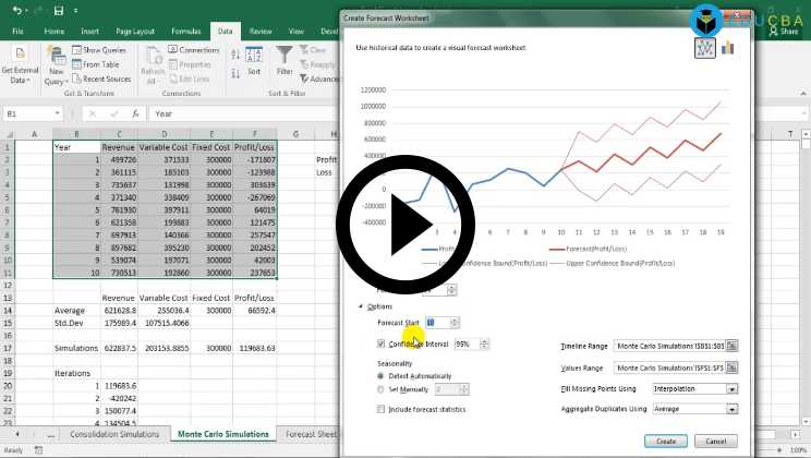 Excel-Data-Analysis-Course - Table Simulations