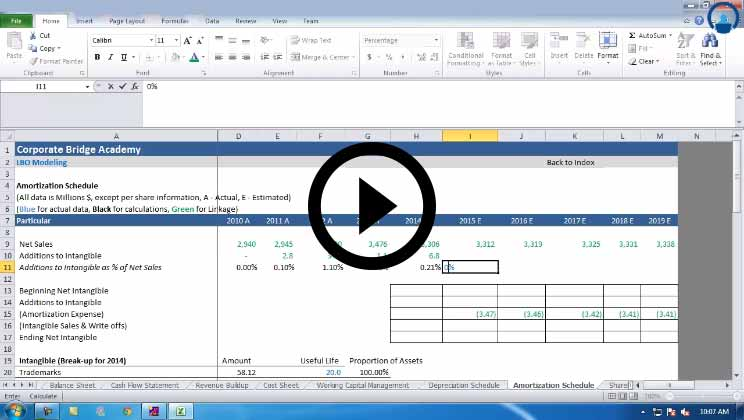 LBO Modeling Course - Revenue build up part 1