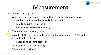 Measurement - Asset and Liability