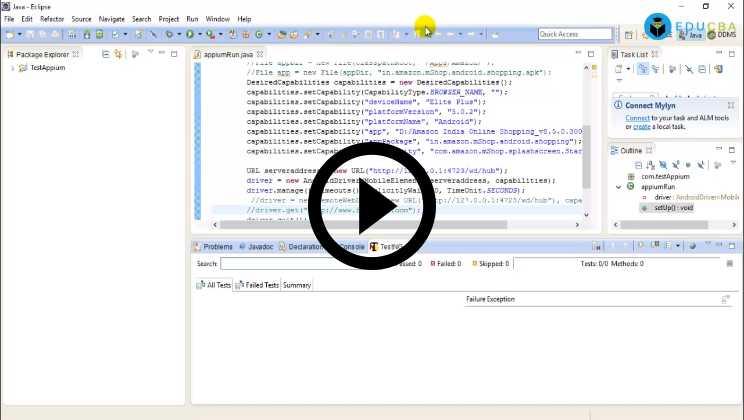 Appium Training Video1