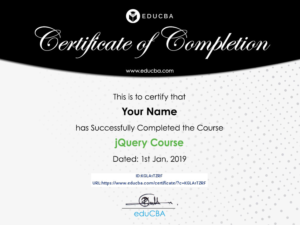 Python Course certificate