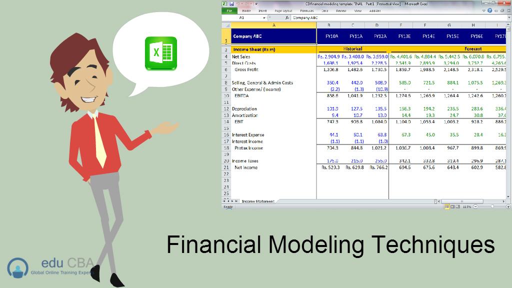 Financial-Modeling-Techniques