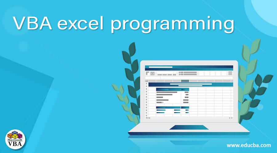 VBA excel programming