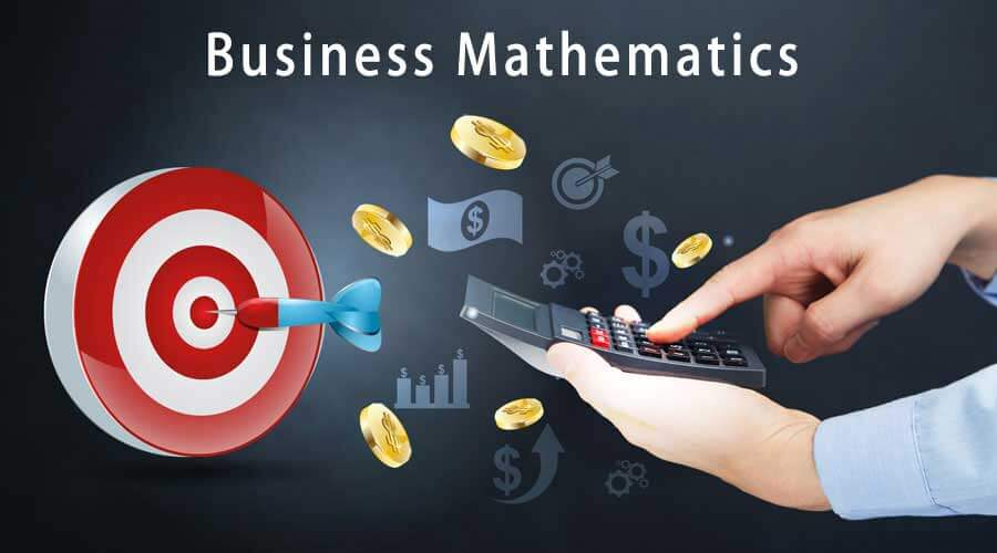 business mathamatic This chapter discusses the base, rate, and percentage problems, which are basic to business mathematics mathematical techniques are used to solve specific types of business problems every base, rate, or percentage problem gives two of the three factors a rate of increase or decrease is the difference between two numbers divided by one of them.