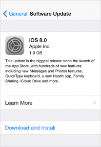 Why Is It Important To Upgrade your device to iOS 8?