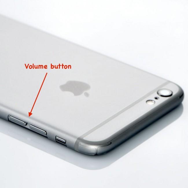 iOS 8 turn down volume