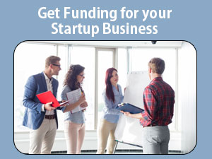 get funding for your startup