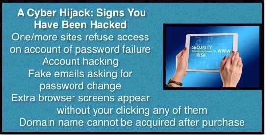 cyber hijacks