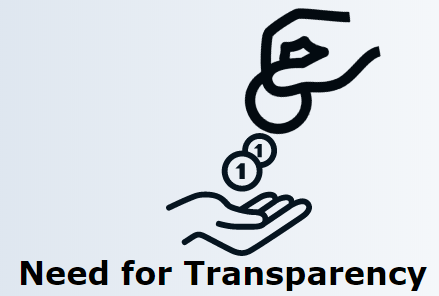 Need for Transparency