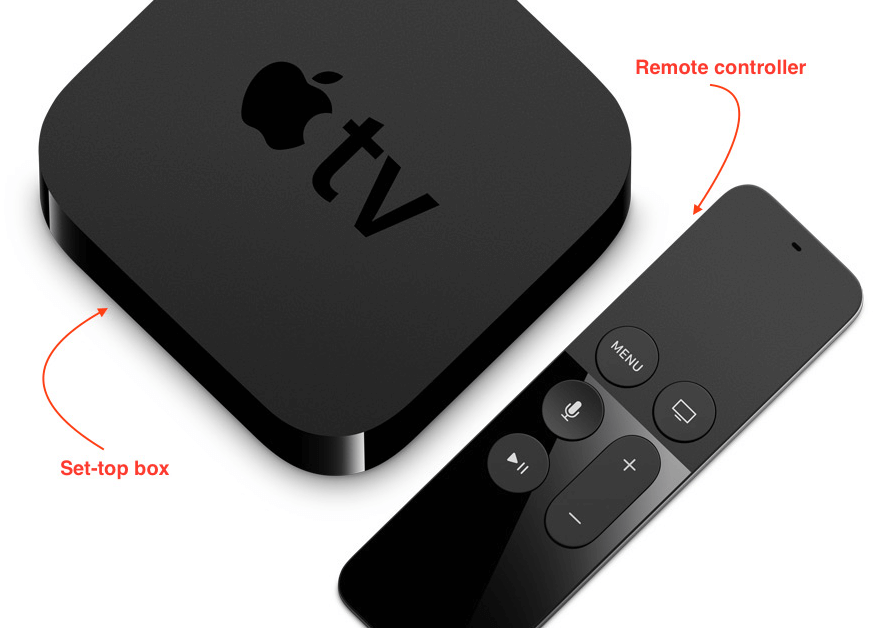 Apple TV Set-top box