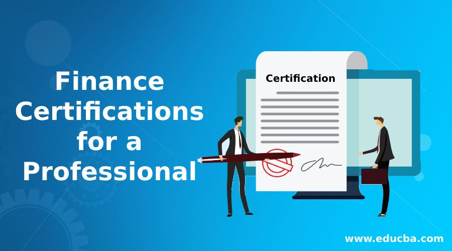 Finance Certifications for a Professional