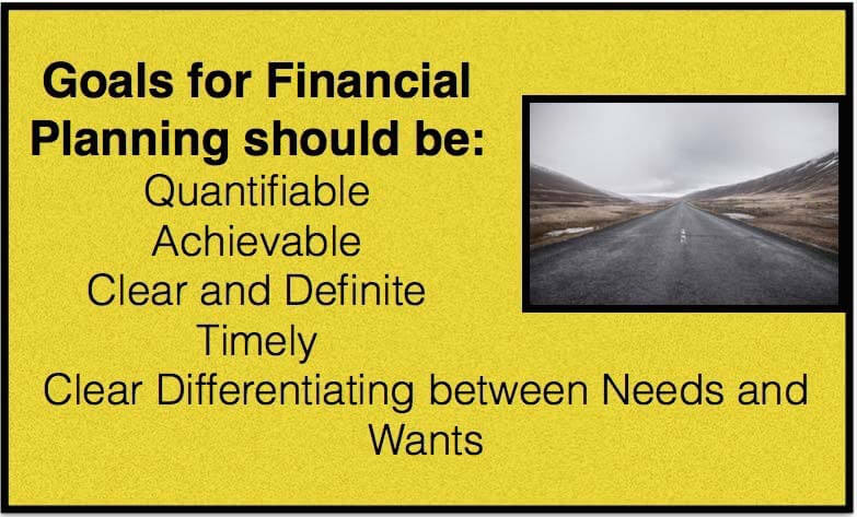 goals of financial planning