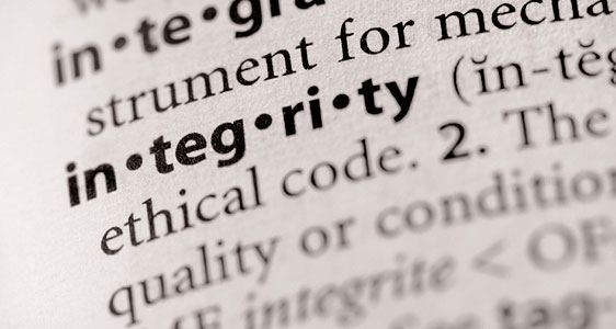 Business Management - integrity