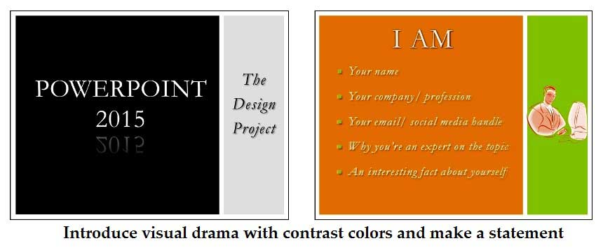 Contrast colors