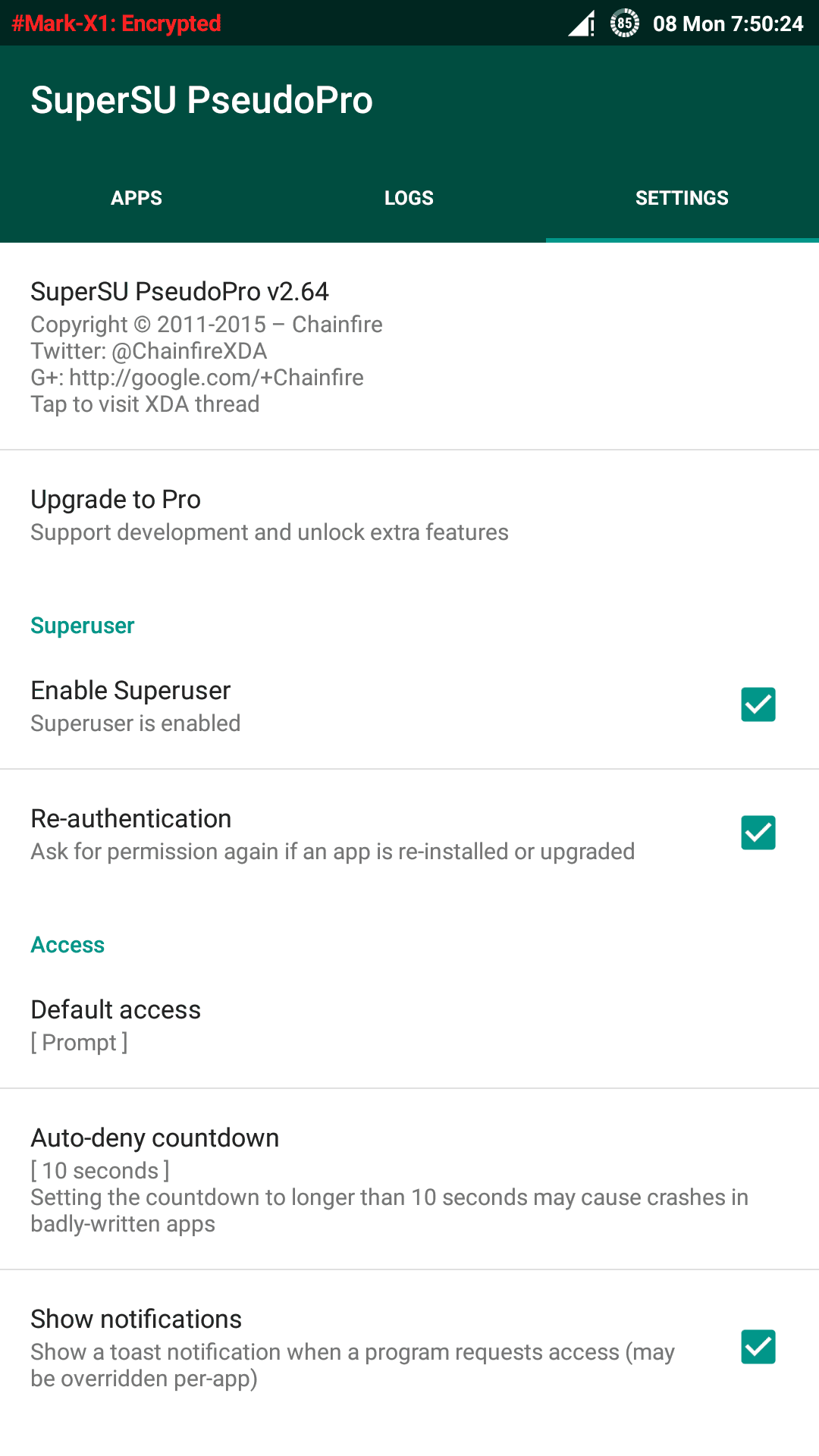 SuperUserPro Root on Oneplus