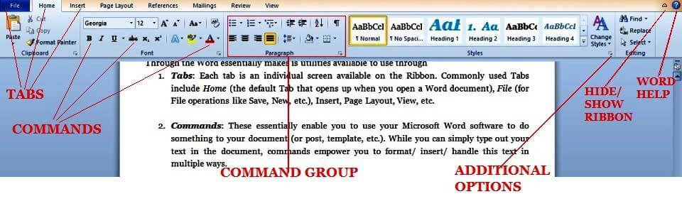 7 Important Microsoft Word Features | templates | Introduction