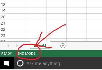 end mode
