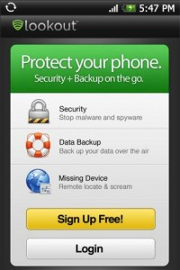 Android Security Applications - lookout