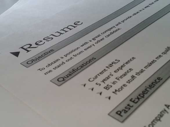 resume writing activity