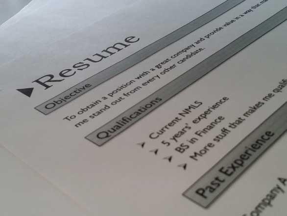 resume writing activity