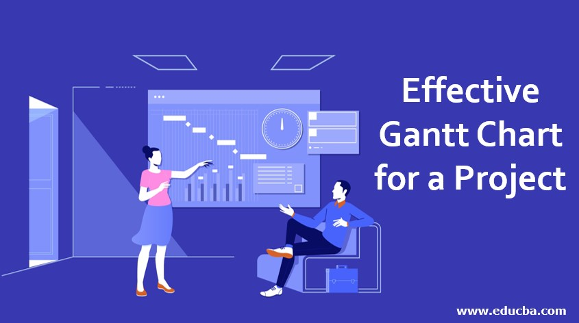 Effective Gantt Chart for a Project