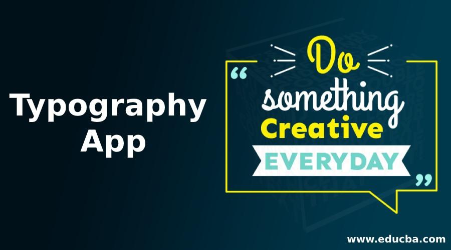Typography App