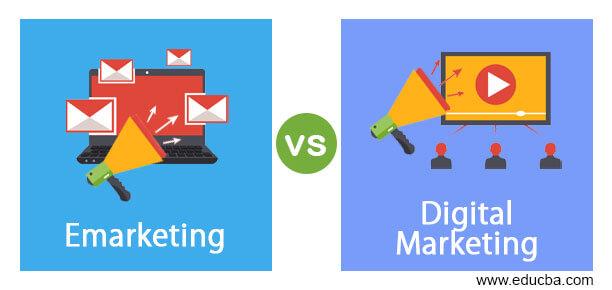 Emarketing vs Digital Marketing