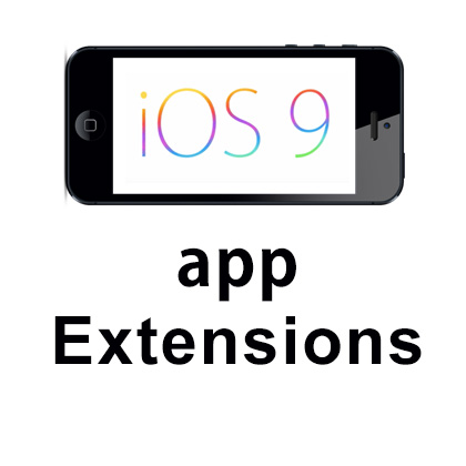 iOS App Extensions- iOS 9 App Development Extensions (APP and Photo)