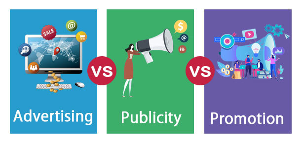 Advertising vs Publicity vs Promotion