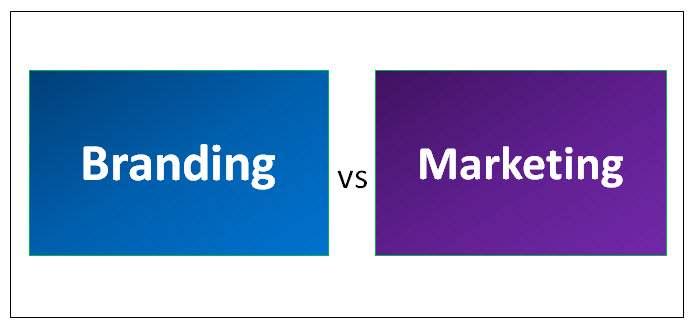Top 6 Key Differences Branding vs Marketing | Companies | strategy |  management