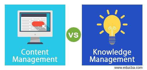 Content Management vs Knowledge Management