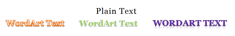 Working With Text In Word - Font screen d