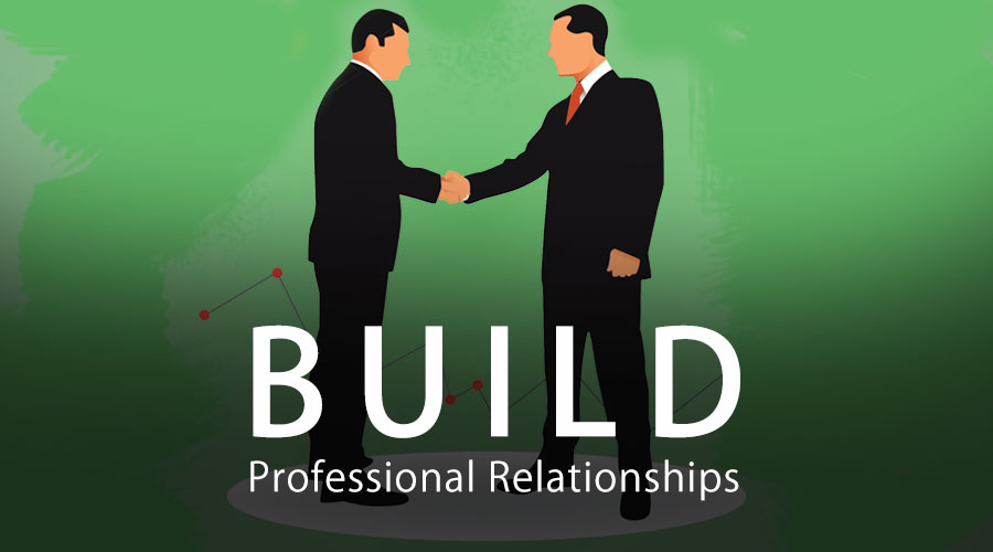 build professional relationships