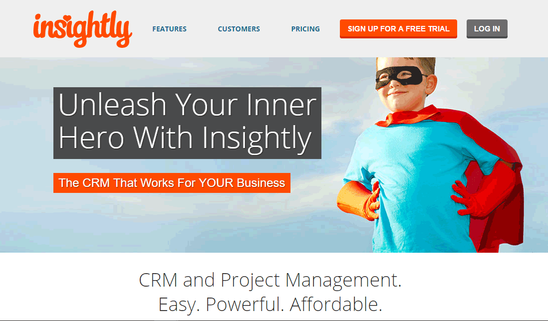 insightly - Project management software