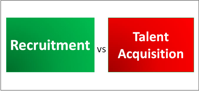 recruitment vs talent acquisition