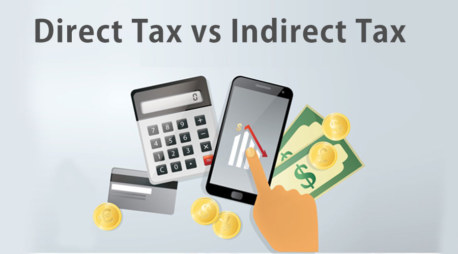 Direct tax vs Indirect-tax
