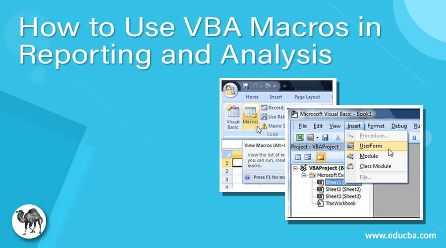 How to Use VBA Macros in Reporting and Analysis