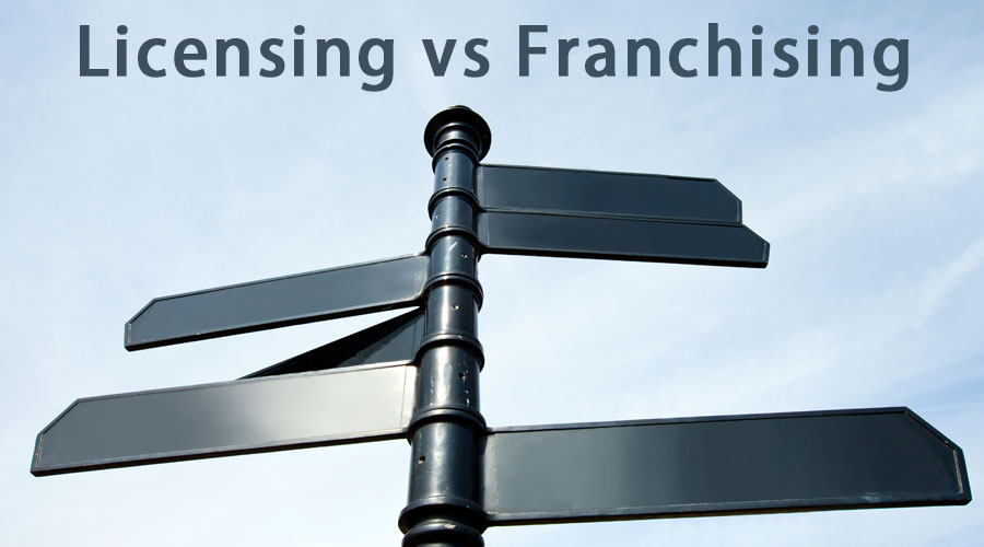 licensing vs franchising