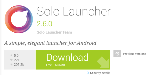 solo launcher