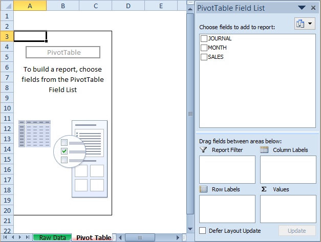 10 Best Steps to Build a Pivot Chart in Excel 2016 | eduCBA