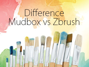 Mudbox vs Zbrush - 5 Major and important Point of Difference