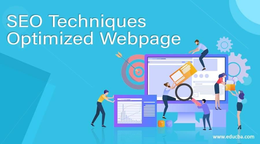 SEO Techniques Optimized Webpage